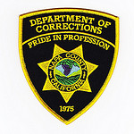 Department of Corrections badge