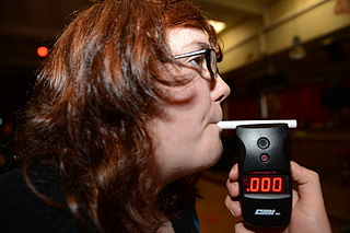 A woman records a 0.00 BAC